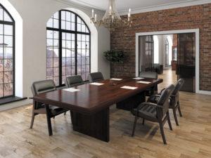 переговорная комната с прямоугольным столом серии Гарвард